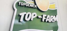 3D logo zo styroduru, aluplastu, PVC | TOP-FARM