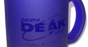 Sklenený pohár s lakom | Gastro Deák