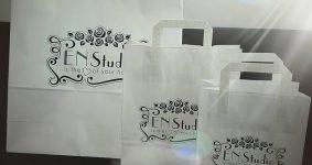Potlač papierových tašiek (sieťotlač) | EN Studio